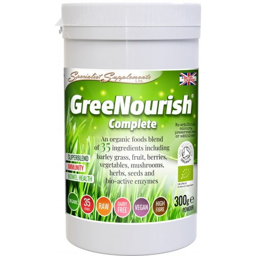 Greenurish Complete - A complete vegan nutrition drink