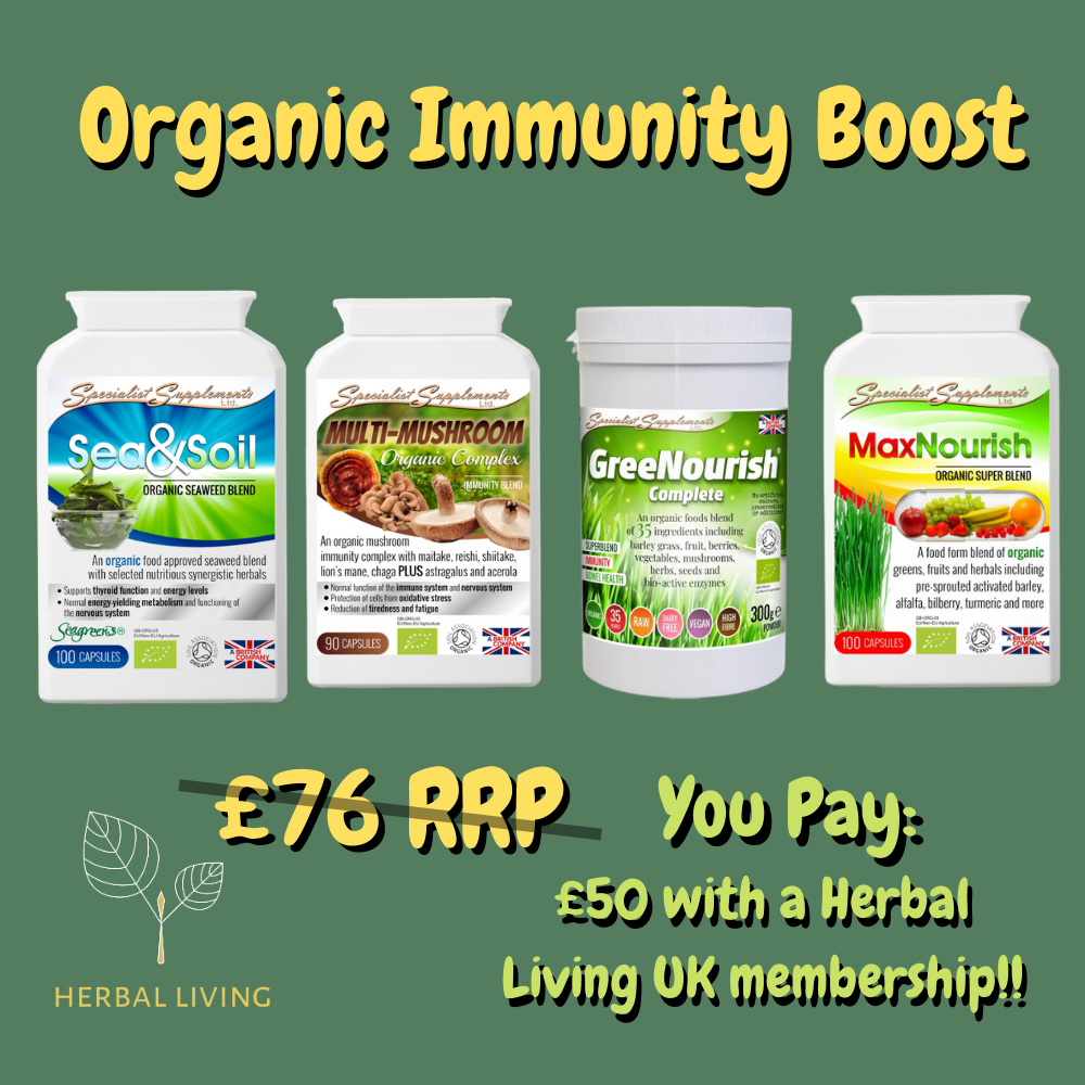 Bundle deal: Organic Immunity Boost!