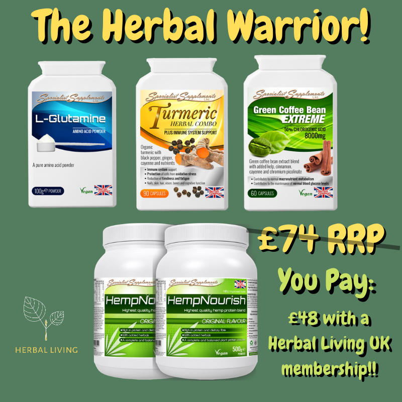 Herbal Warrior – Plant Based Gym Bundle