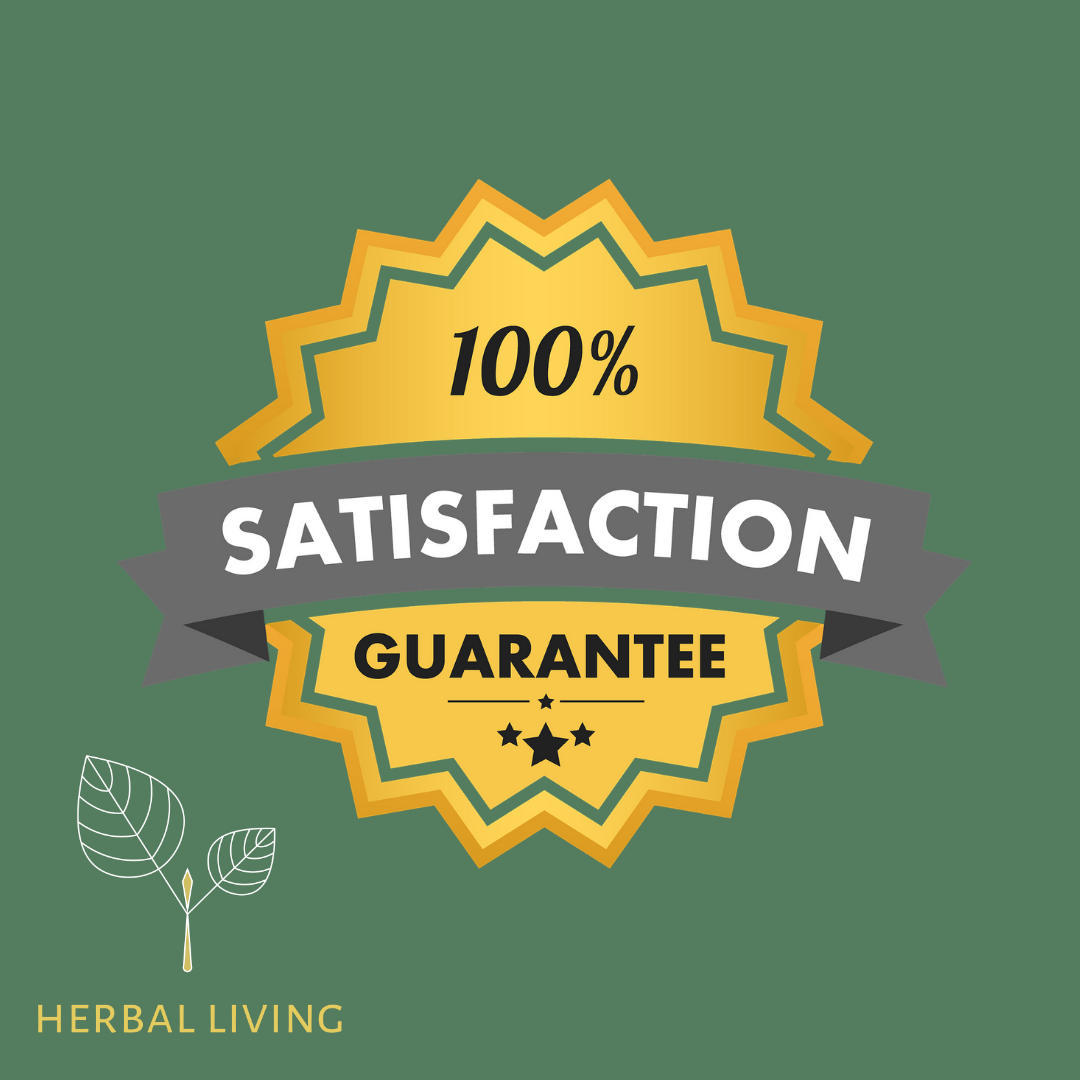 Herbal Living UK satisfaction Guarantee